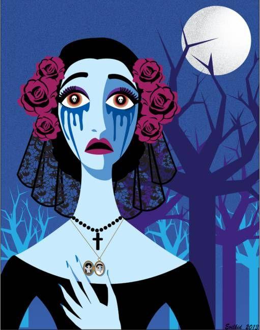 La Llorona By Alia Phibes La Llorona Card Art Llorona