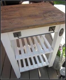 IKEA Cart Re-Make - I need something like this for the deck!