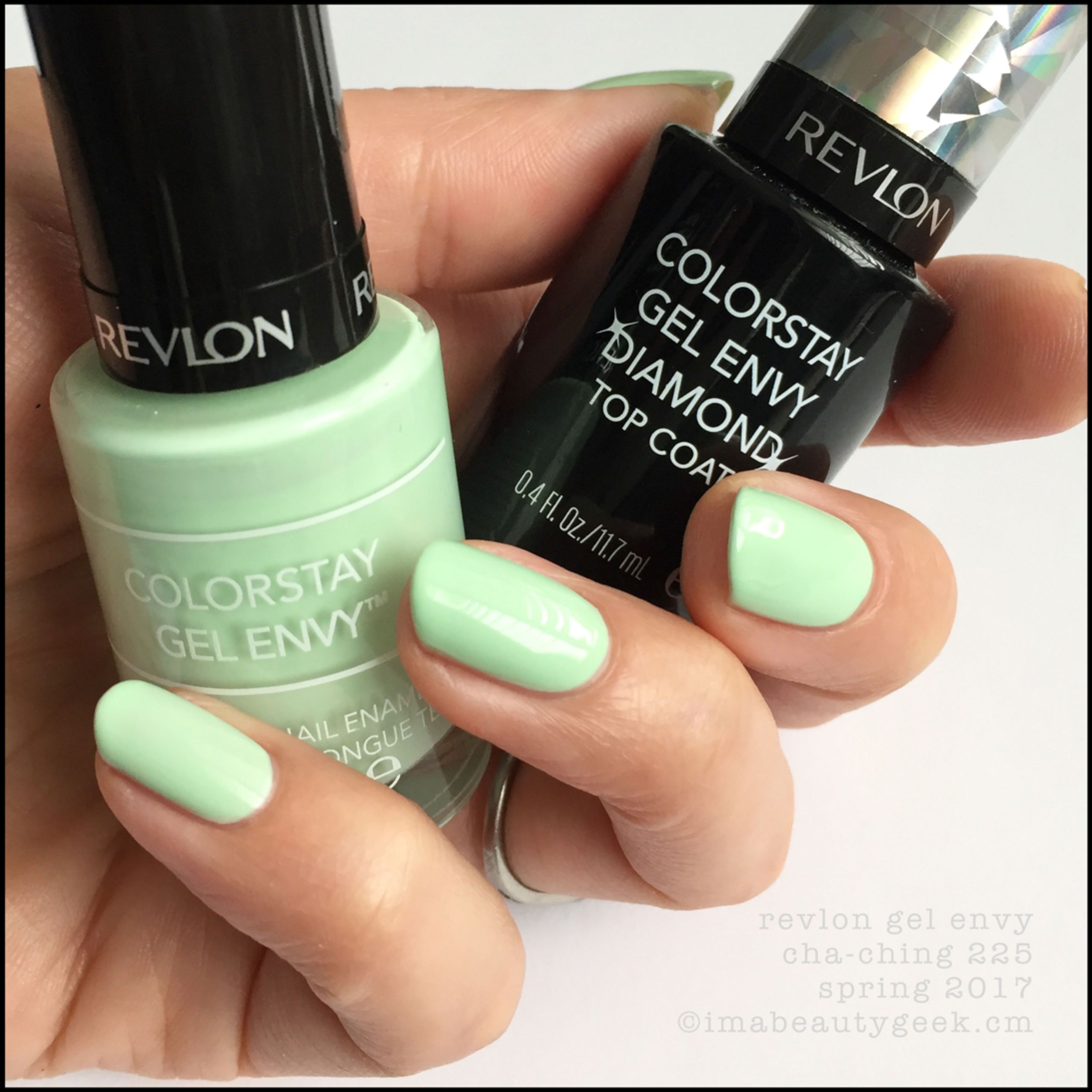 Revlon Cha Ching Gel Envy Nail Polish With Diamond Top Coat