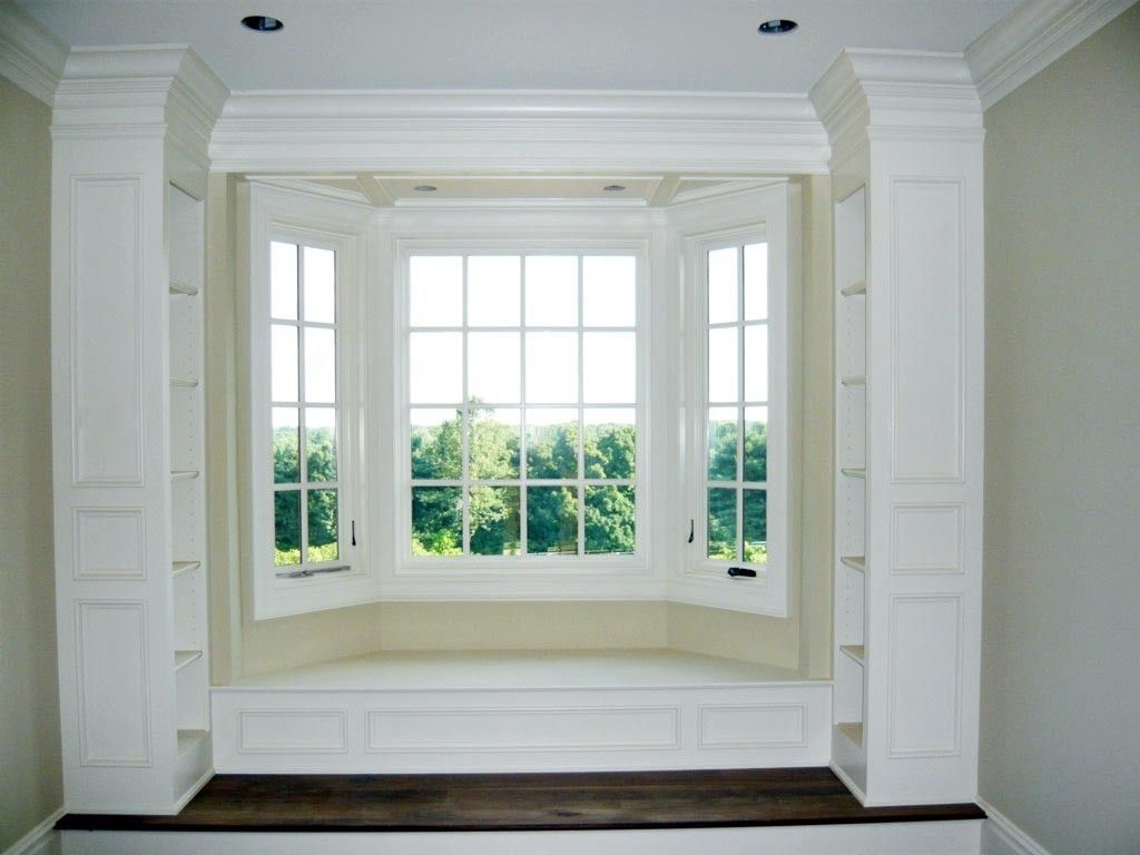 Window Ledge Seating custom made built-in window seat | window sills | pinterest
