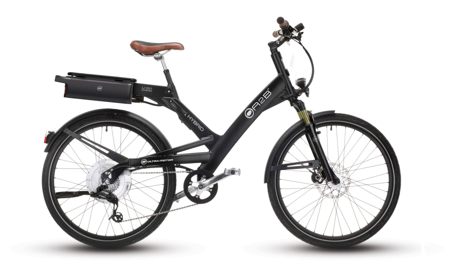 Hero Eco A2b Hybrid 26 Electric Bike Black