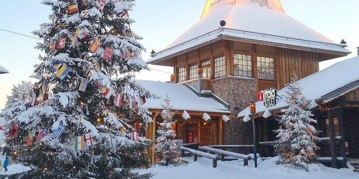 Santa Claus Holiday Village, Lapland, Finland