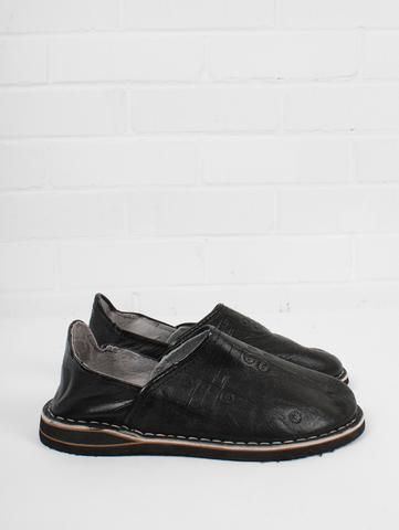 1f45d5a68c22 Fair trade leather babouche slippers for men handmade by artisans in  Marrakech