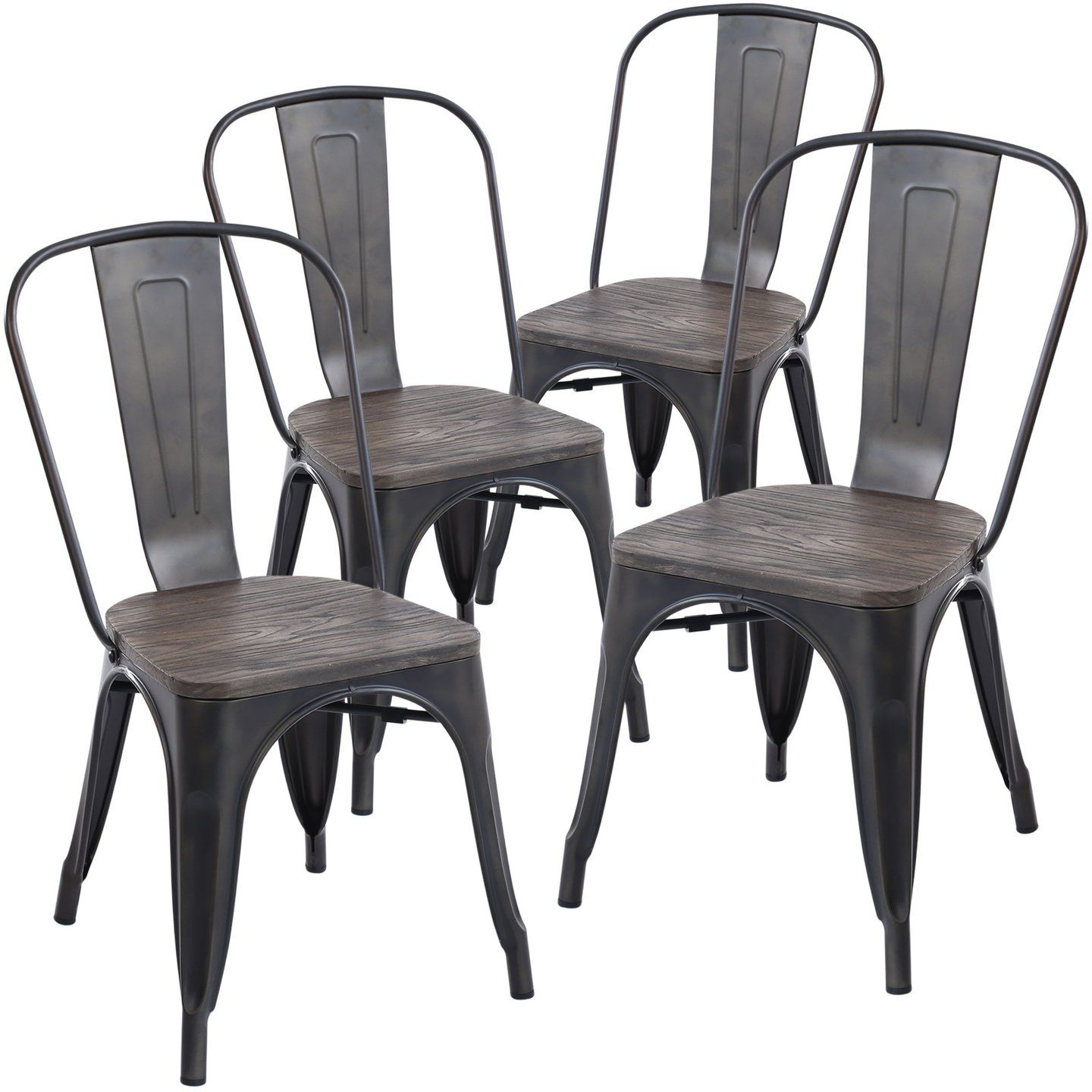 Set of 4 - Trattoria Side Chairs | Side chair and House