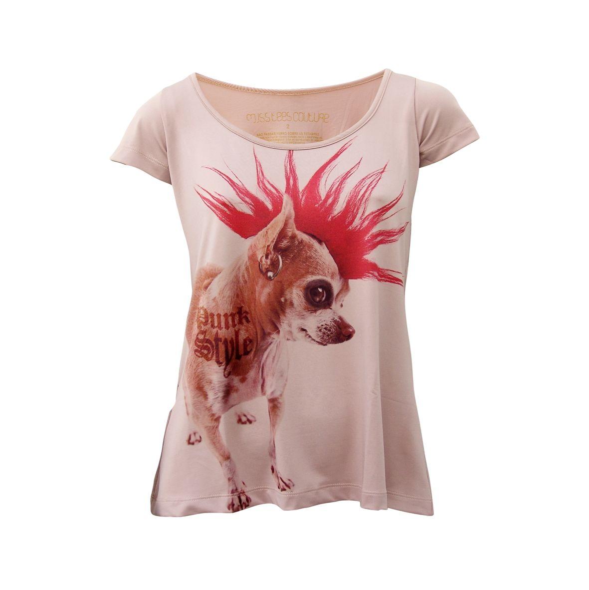 Camiseta Pintcher Punk - Chic 4ever1181 x 1182352.2KBchic4ever.com.br