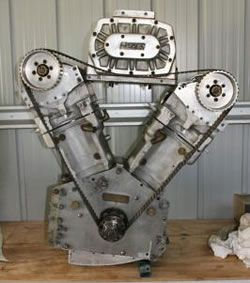 5000cc merlin v-twin motorcycle engine | old bikes some new all