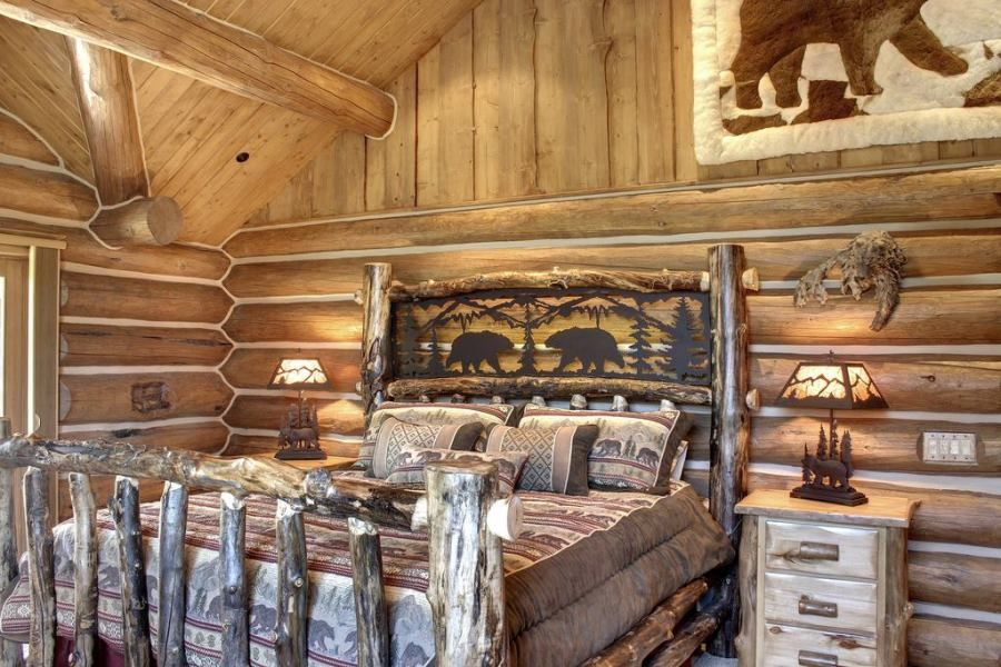 These Are The Beautiful Log Home Decorating Ideas