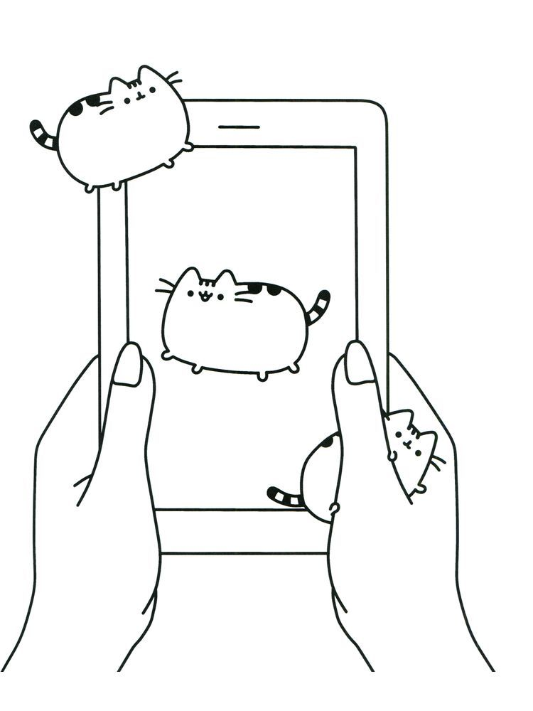 Pusheen Coloring Pages Free Printable 1. Pusheen Is A Female Cartoon Cat  That Is A Comic Material … In 2020 Pusheen Coloring Pages, Cartoon  Coloring Pages, Coloring Pages