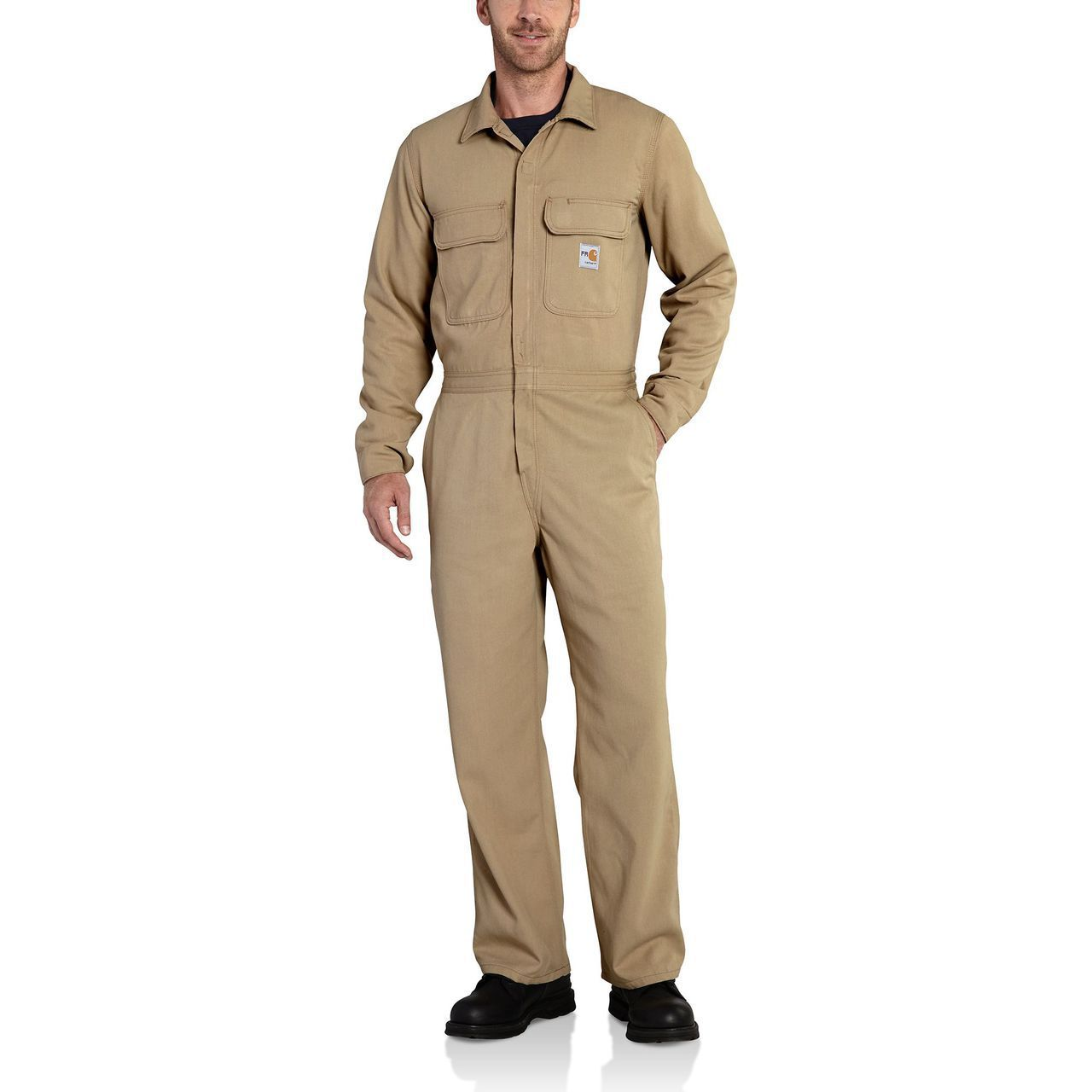 men s fr work coverall the brown duck work coveralls on work coveralls id=85214
