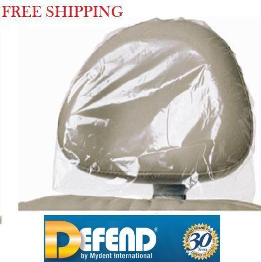 "Dental Tattoo Chair Headrest Covers by Defend 11 x 9 1 2 x 2"" BF 9000 USA | eBay"