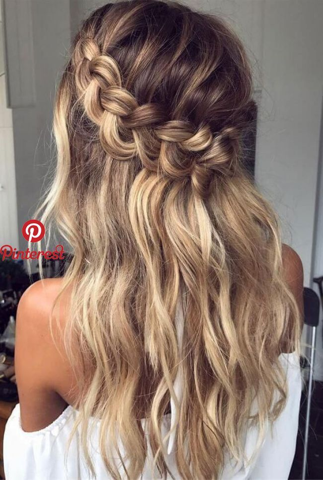 Photo of 27 beautiful wedding braid hairstyles for your big day #seve …