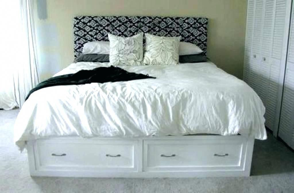 Beautiful gray queen platform bed w storage drawers Arts, idea gray