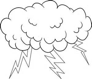 Storm Cloud Outlines Bing Images Coloring Pages Sun Coloring