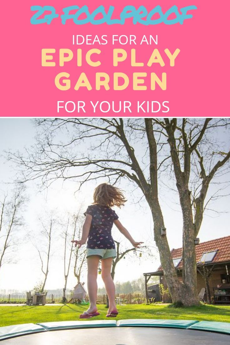 Epic Play Garden For Your Kids frrom toddlers to teenagers, play gardens, activity centres, keep the kids energized this summer w is part of garden Kids Activities - 27 Foolproof Ideas For An Epic Play Garden For Your Kids Weve been through a huge array of toys and equipment and as we start to set up our garden again for outdoor play this Spring, I thought i'd let you in on some of our favourites like