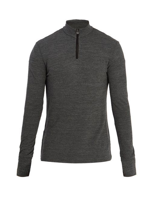 Dartmore crew-neck wool base-layer top Iffley Road For Nice Online JQtJVuRrA
