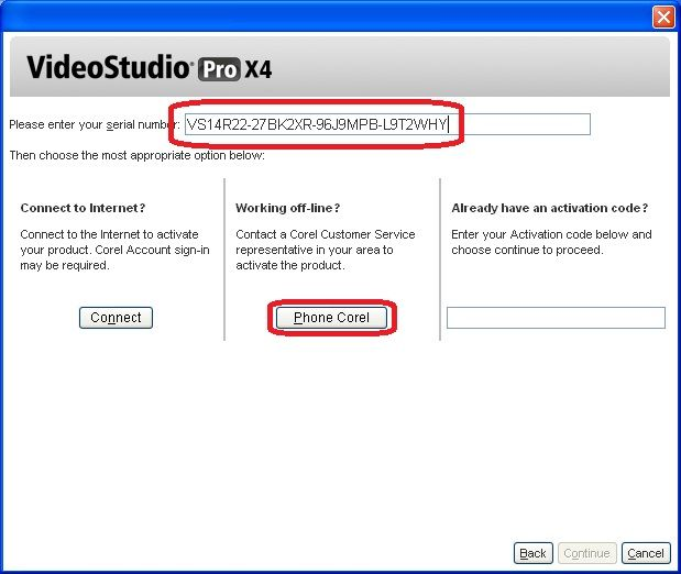 corel videostudio pro x5 activation code keygen