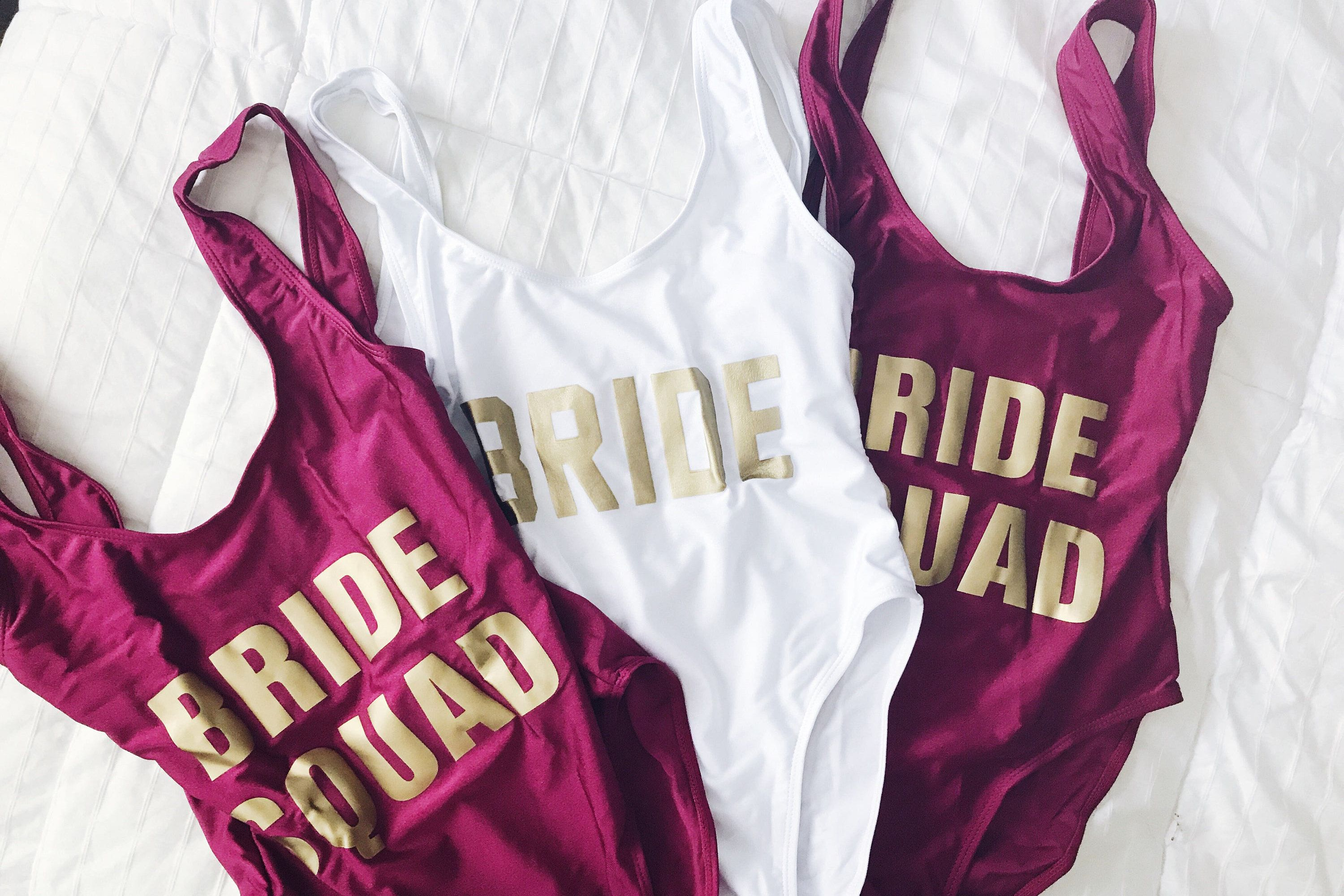 b6d8f582d462d Best Bride and Bridesmaid Swimsuits For Bachelorette Parties in 2019 ...