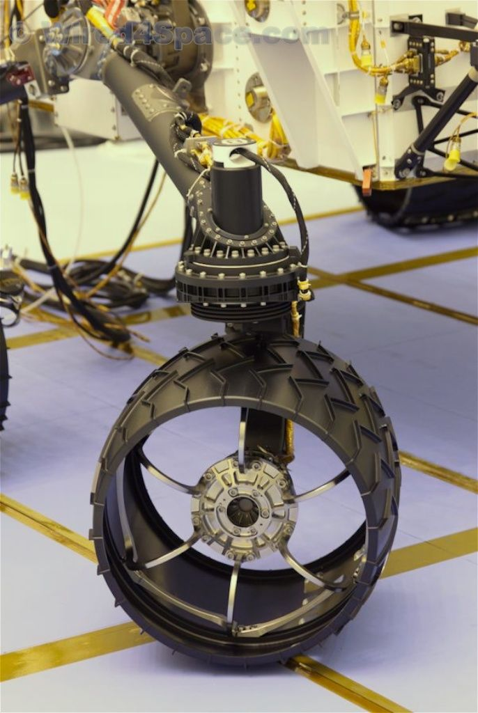 mars rover wheels design - photo #11