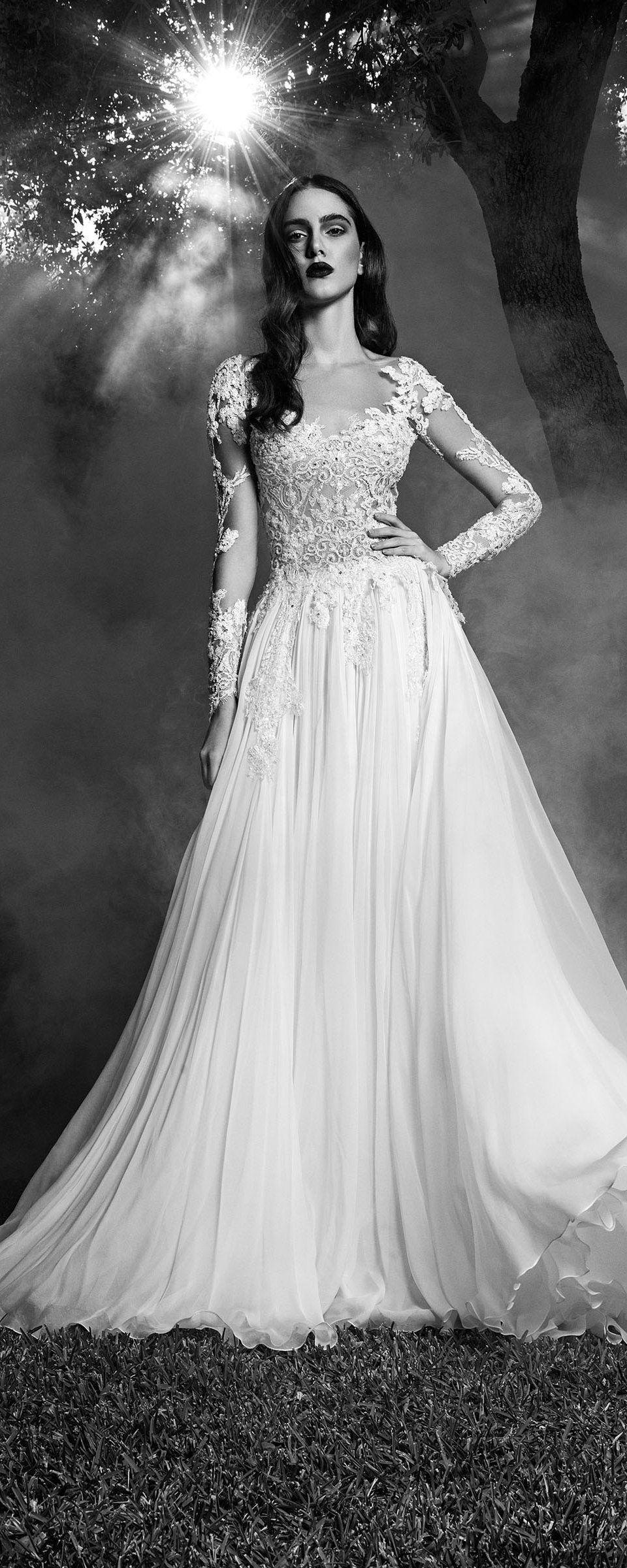Zuhair murad fallwinter bridal vestidos novia boda y