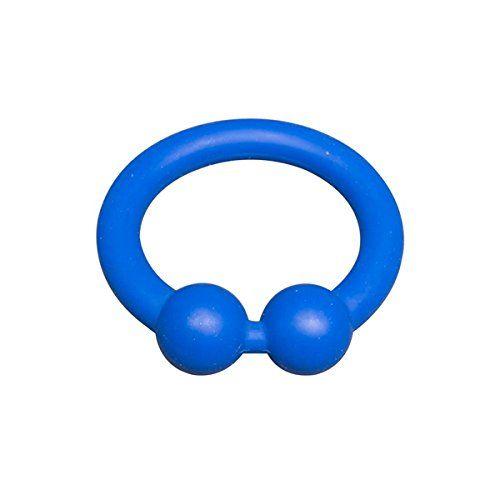 Sport Fucker Bullring - Cockring im Design von Bullenring Piercing - Durchmesser 48 mm - blau, 1 Stück