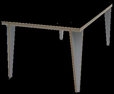 Tafel samenstellen simpele tafels chantier 24 pinterest for Tafel samenstellen