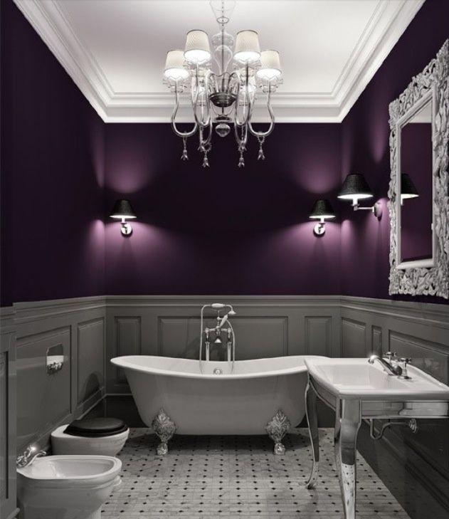 Plum Colored Walls