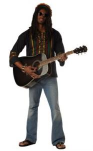 Reggae Man Adult Costume  sc 1 st  Pinterest & Reggae Man Adult Costume | Costumes | Pinterest | Costumes