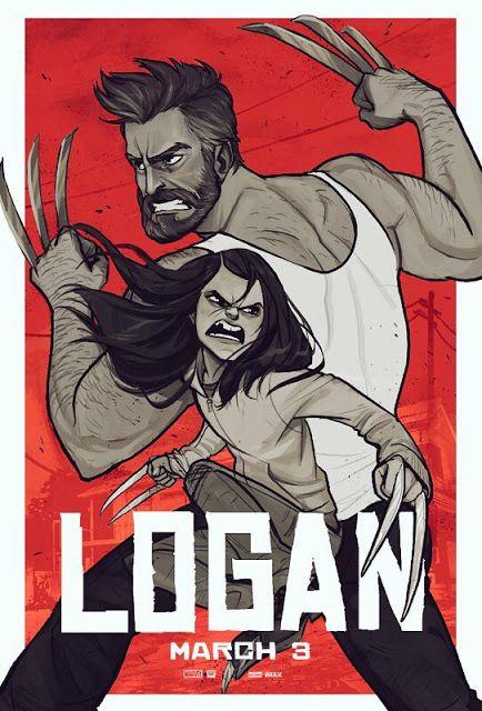"""logan"" comic book posters www.boraborahut.com/2017/02/logan-comic-book-posters.html"