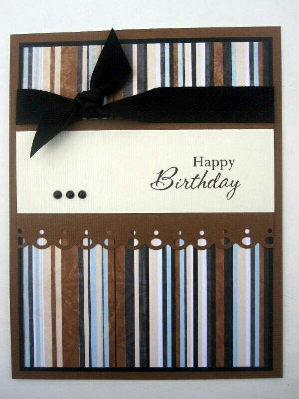 Pin by cindy heidmann on cards pinterest cards handmade happy birthday card for male simple layout for any occasion bookmarktalkfo Gallery