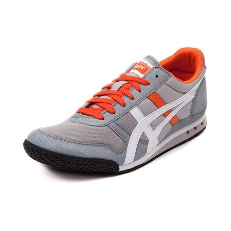 the best attitude 09954 e43d9 Mens Onitsuka Tiger Ultimate 81 Athletic Shoe, Gray Orange White   Journeys  Shoes
