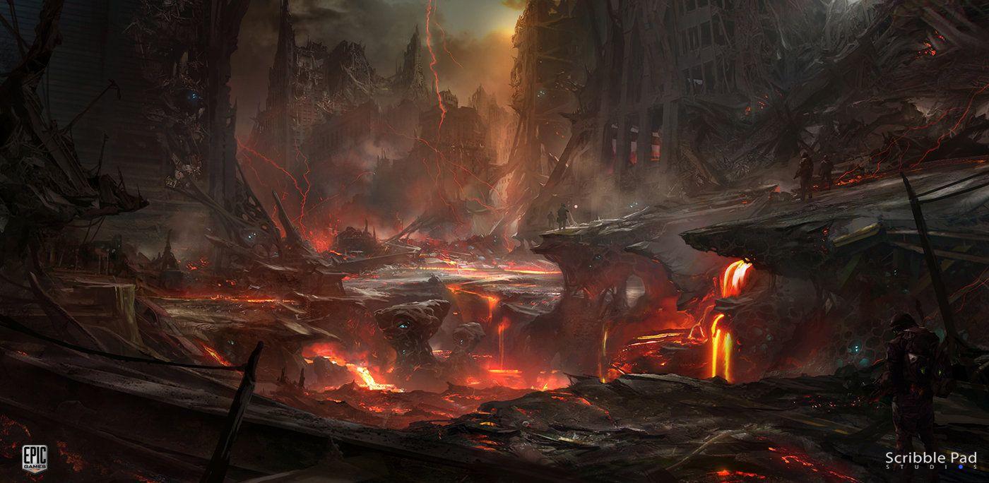 ArtStation - Epic Games - IP Development Teaser, Scribble Pad Studios