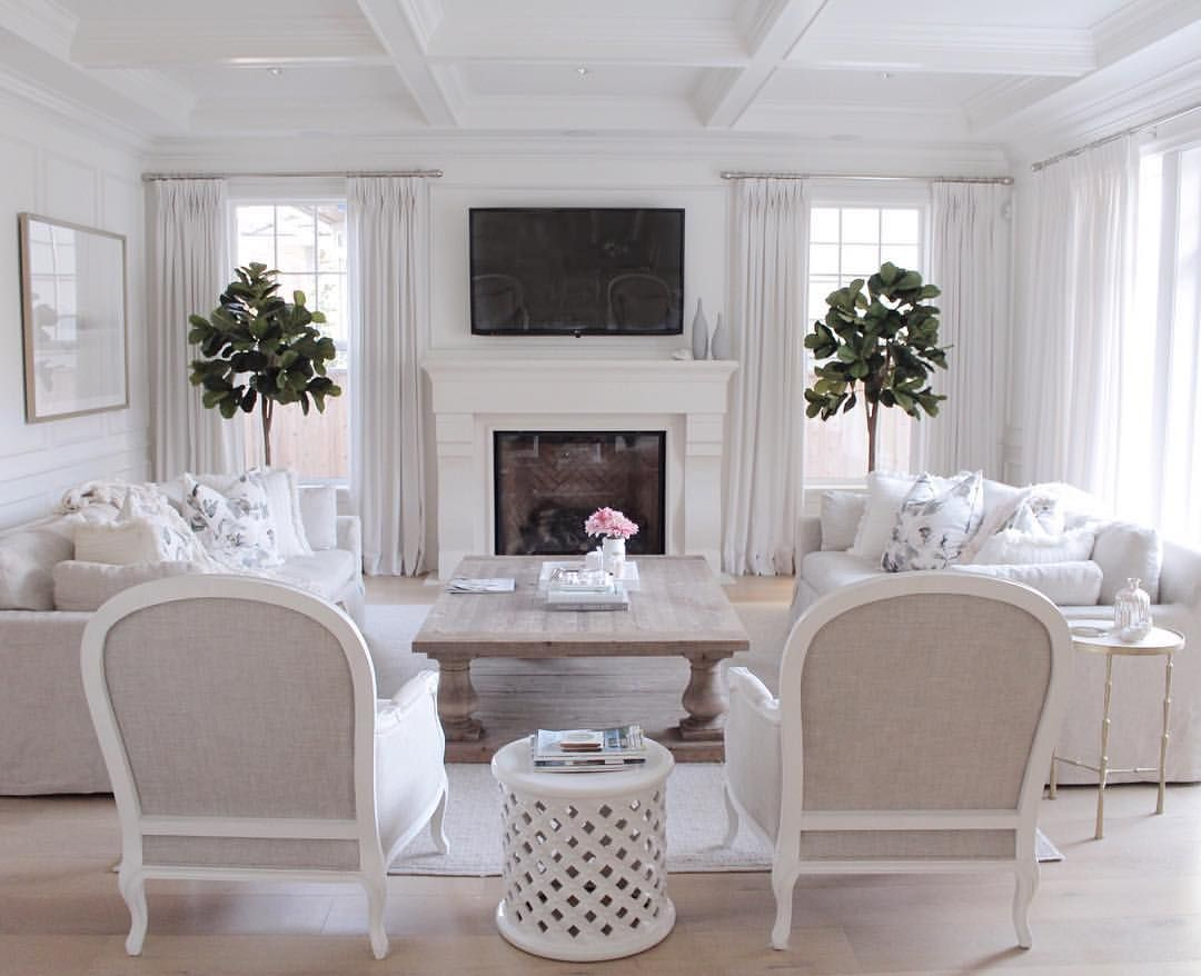 Hamptons Style Restoration Hardware Living Room Decor