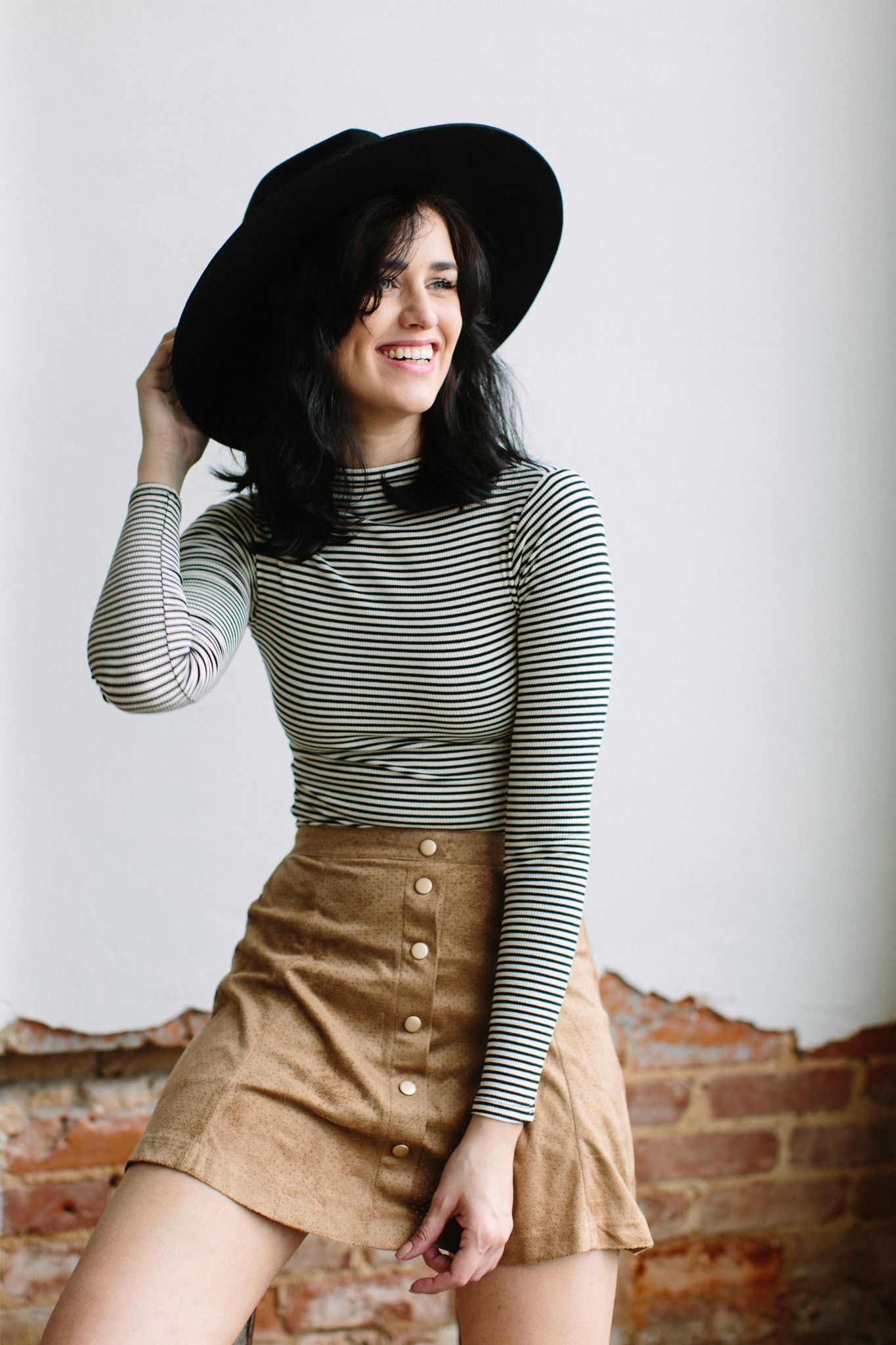 Striped Rowan inspiration, LOVE this whole outfit!
