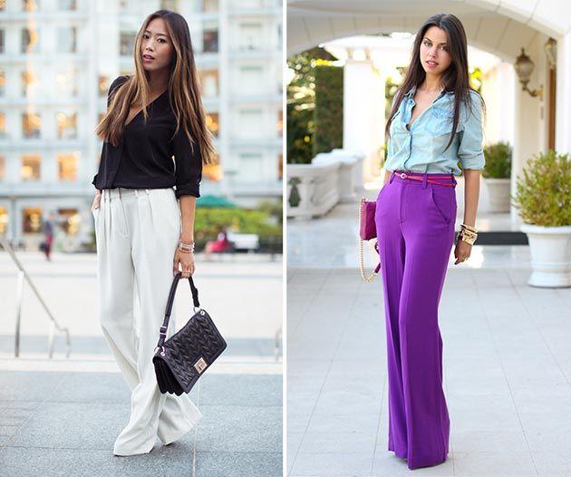 How to Wear Wide Leg Pants | Wide leg pants, Wide legs and Legs