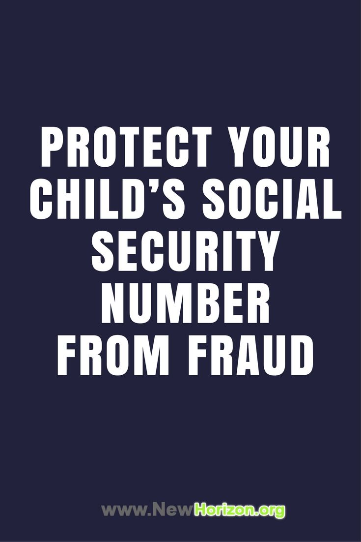 Parents Protect Your Child S Identity Identity Theft Identity Fraud Identity Theft Statistics