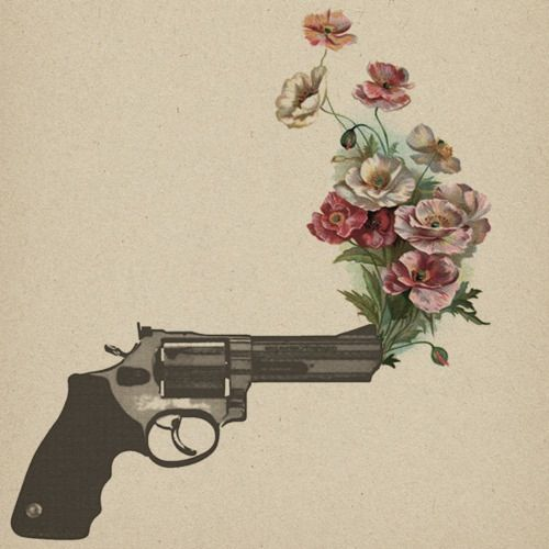 A flower gun is such a pretty thing. I probably would never get it but I think it's beautiful
