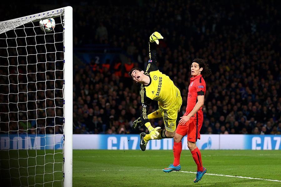 "Thiago Silva's 114"" goal against Chelsea. Chelsea fans"