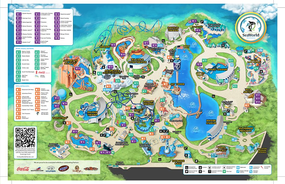 sea world florida map pdf