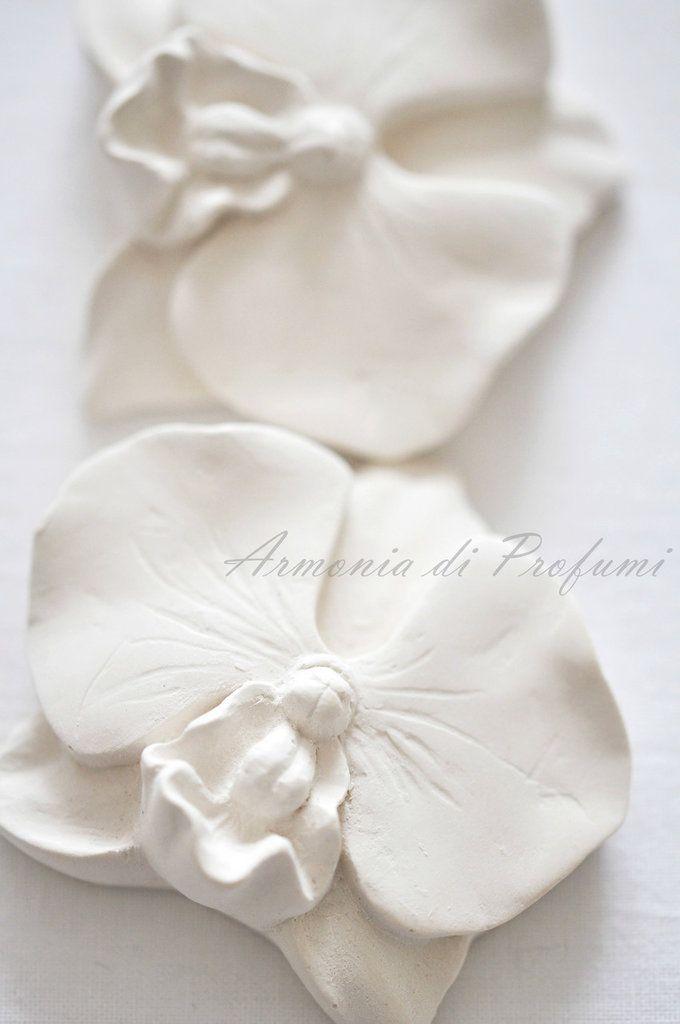Segnaposto Matrimonio Orchidea.Gessi Profumati Segnaposto Orchidea Segnaposto Segnaposto