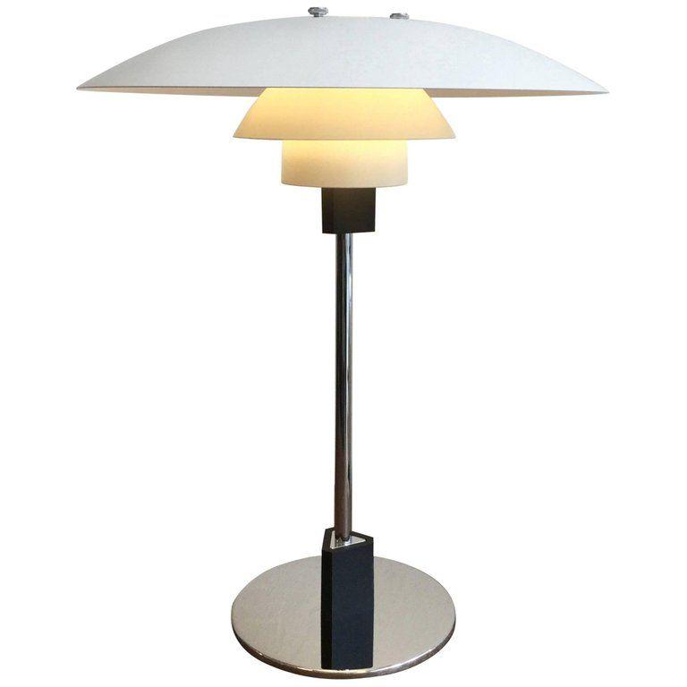 Ph 4 3 Table Or Desk Lamp By Poul Henningsen Louis Poulsen Denmark Artichoke Lamp Stylish Table Lamps Lamp