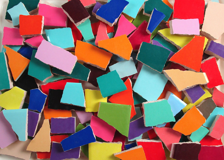 Bulk Mosaic Tiles 2 Pounds Mixed Solid Colors And Sizes Mixed Tile Pieces Bulk Mosaic Tiles For Mosaic Art Made R Mosaic Tiles Ceramic Mosaic Tile Mosaic Art