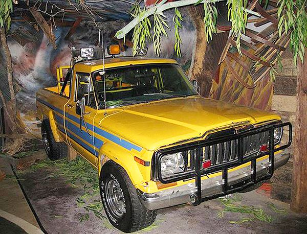 Jeep Comanche Pickup From Twister At Hollywood Star Cars Museum