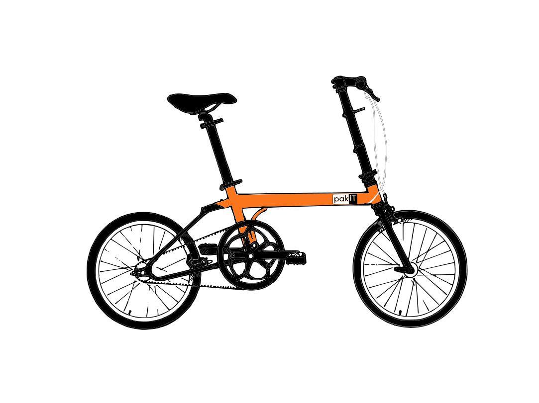 Bike Friday Configure your pakiT wCarbonDrive (8spd