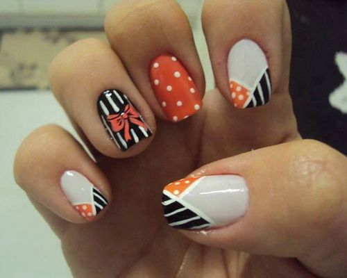 Image for Easy Fall Nail Ideas - The Nail Polish Colors Wearing Fall, We May - Cute Nail Designs For Fall Graham Reid
