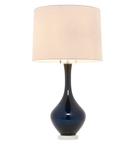 Colored Glass Table Lamp Midnight Blue Table Lamp Lamp Glass Table Lamp