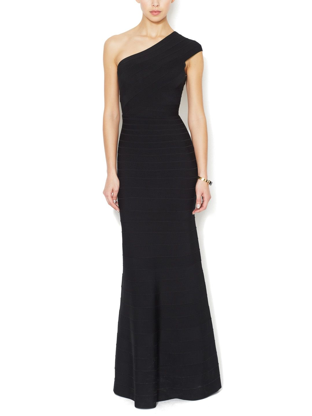 Elena One Shoulder Gown from Herve Leger on Gilt   My Style ...