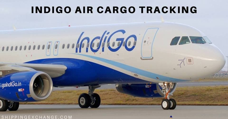 Indigo Cargo Tracking Track Trace Package Through Air Service