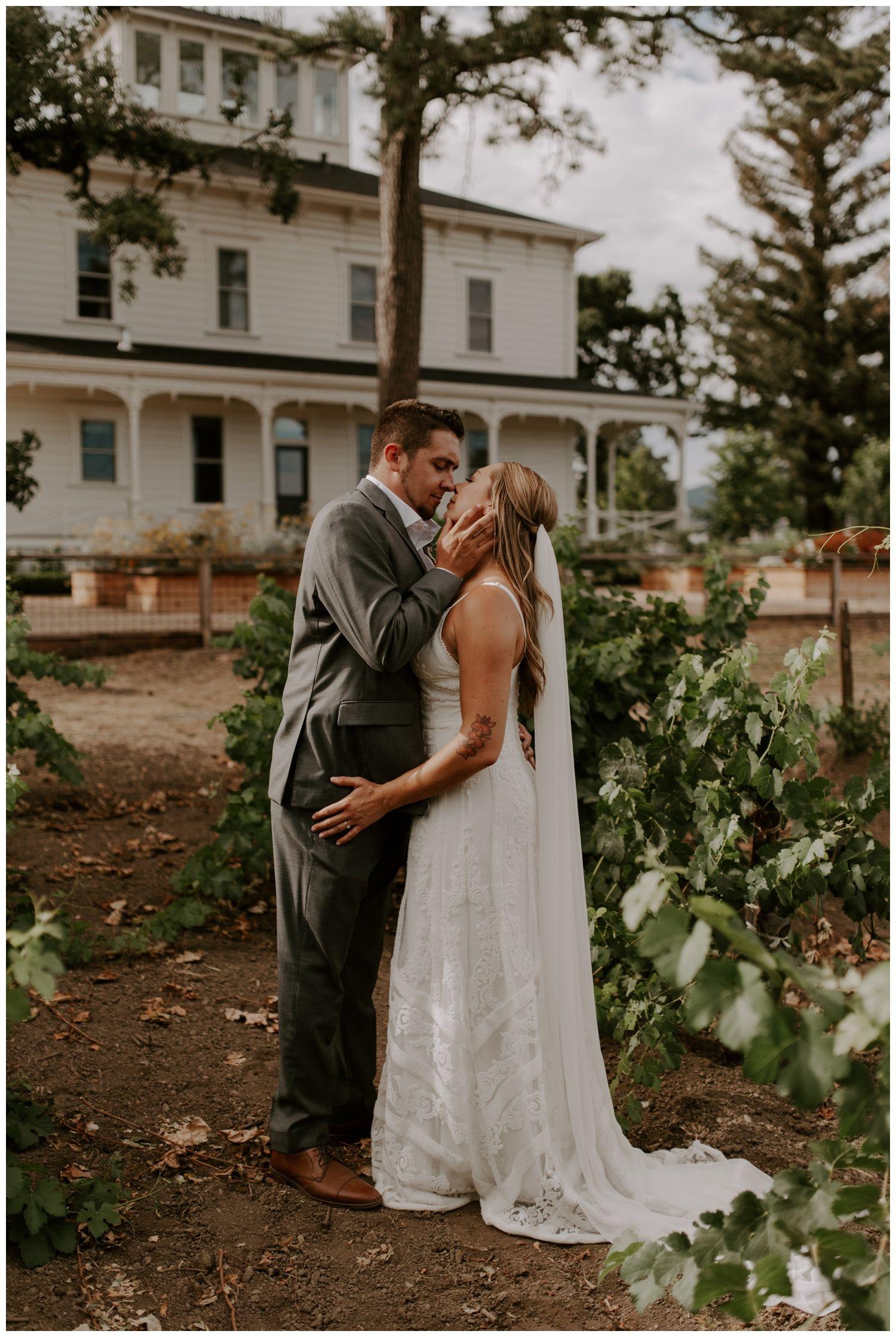 Napa Valley Backyard Wedding and Reception at Elizabeth