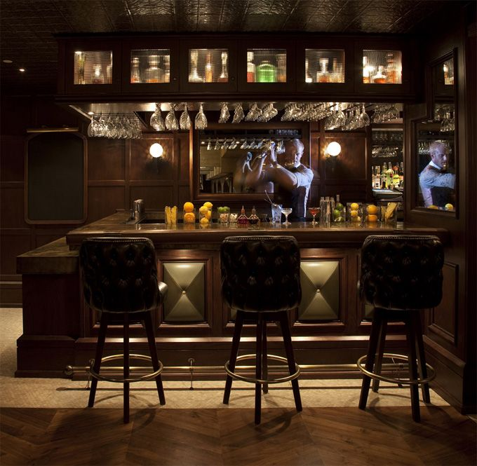 Bar And Lounge Interior Design: Bowling Alleys Are Right Up There With Curling Rinks On
