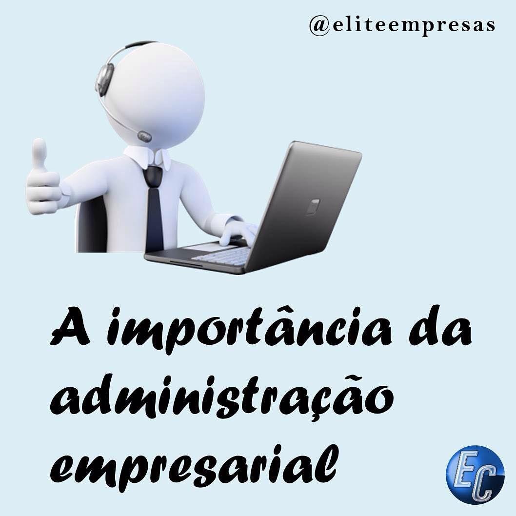"""Causa principal da maior parte das quebras e falências das micros, pequenas e médias empresas, a falta de um administrador é algo recorrente em grande parte do ambiente empresarial brasileiro. É notória a dificuldade de empresários que iniciam seu próprio negócio em administrar empresas e suas áreas. E falar sobre a importância da administração nas organizações é o objetivo de hoje na série """"Como Abrir a Sua Empresa"""". Confira: http://goo.gl/WmjKVI  #startups #eliteempresas"""